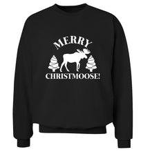 Merry Christmoose Adult's unisex black Sweater 2XL