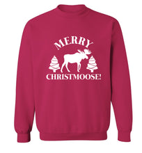 Merry Christmoose Adult's unisex pink Sweater 2XL