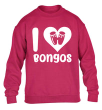 I love bongos children's pink sweater 12-14 Years