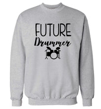 Future drummer Adult's unisex grey Sweater 2XL