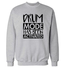Drum mode activated Adult's unisexgrey Sweater 2XL