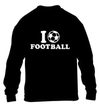 I love football children's black sweater 12-14 Years