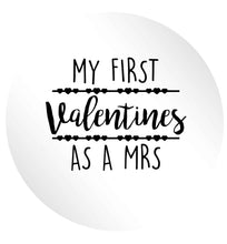 My first valentines as a Mrs 24 @ 45mm matt circle stickers