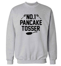 No.1 Pancake tosser adult's unisex grey sweater 2XL