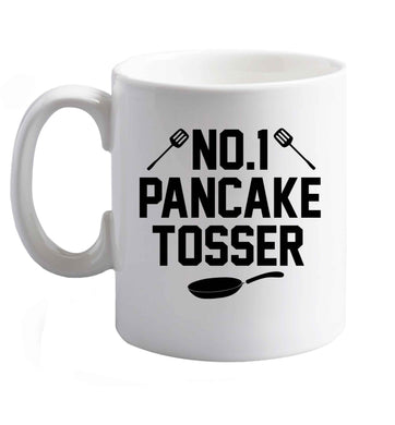 10 oz No.1 Pancake Tosser ceramic mug right handed