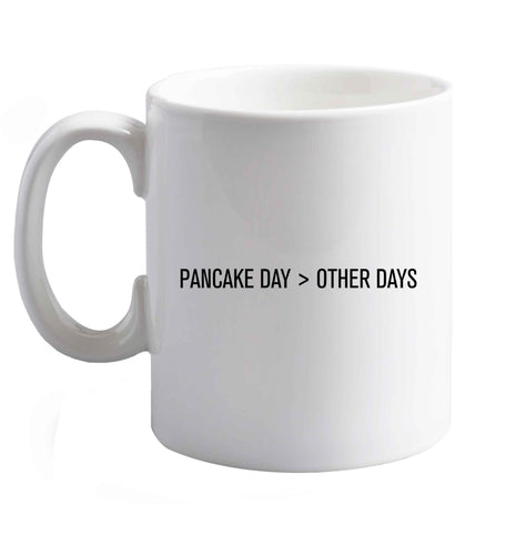 10 oz Pancake Day > Other Days ceramic mug right handed