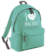 I love pancakes mint adults backpack