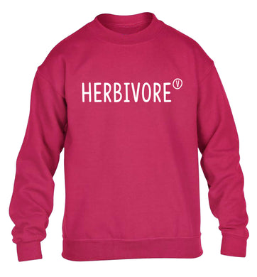 Herbivore children's pink sweater 12-13 Years
