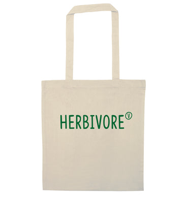 Herbivore natural tote bag