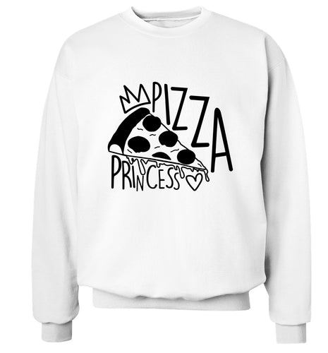 Pizza Princess Adult's unisex white Sweater 2XL