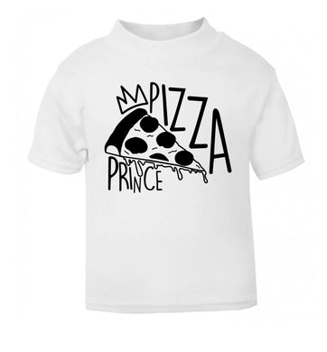 Pizza Prince white Baby Toddler Tshirt 2 Years