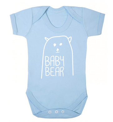 Baby bear Baby Vest pale blue 18-24 months