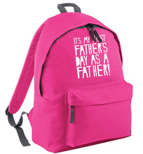 It's my first father's day as a father! pink adults backpack