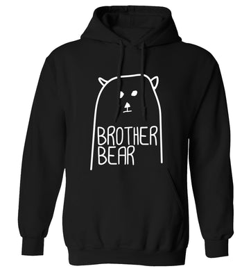 Brother bear adults unisex black hoodie 2XL