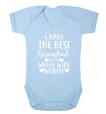 I have the best grandad in the whole wide world! Baby Vest pale blue 18-24 months