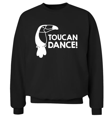 Toucan dance Adult's unisex black Sweater 2XL