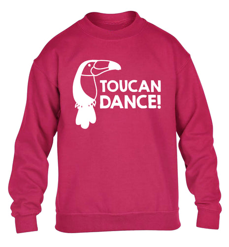 Toucan dance children's pink sweater 12-13 Years
