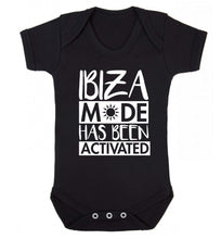 Ibiza mode has been activated Baby Vest black 18-24 months