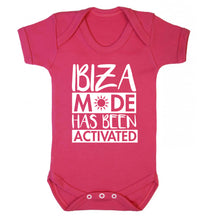 Ibiza mode has been activated Baby Vest dark pink 18-24 months