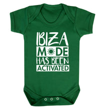 Ibiza mode has been activated Baby Vest green 18-24 months