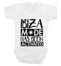 Ibiza mode has been activated Baby Vest white 18-24 months