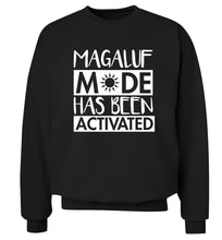 Magaluf mode has been activated Adult's unisex black Sweater 2XL