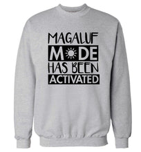Magaluf mode has been activated Adult's unisex grey Sweater 2XL