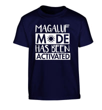 Magaluf mode has been activated Children's navy Tshirt 12-13 Years