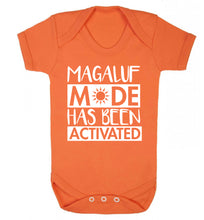 Magaluf mode has been activated Baby Vest orange 18-24 months