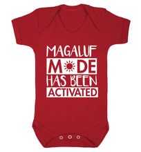 Magaluf mode has been activated Baby Vest red 18-24 months
