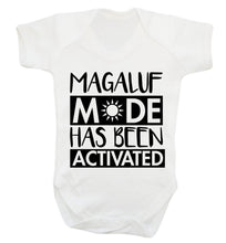 Magaluf mode has been activated Baby Vest white 18-24 months