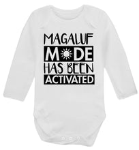 Magaluf mode has been activated Baby Vest long sleeved white 6-12 months