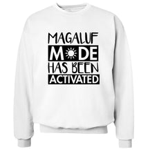 Magaluf mode has been activated Adult's unisex white Sweater 2XL