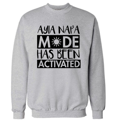 Ayia Napa mode has been activated Adult's unisex grey Sweater 2XL