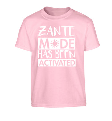 Zante mode has been activated Children's light pink Tshirt 12-13 Years
