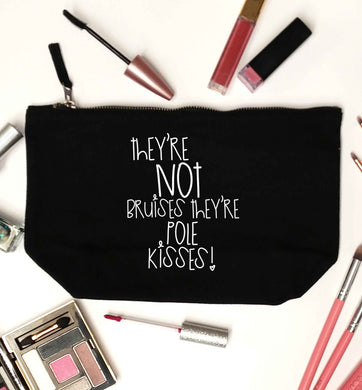 They're not bruises they're pole kisses black makeup bag