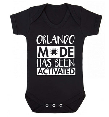 Orlando mode has been activated Baby Vest black 18-24 months