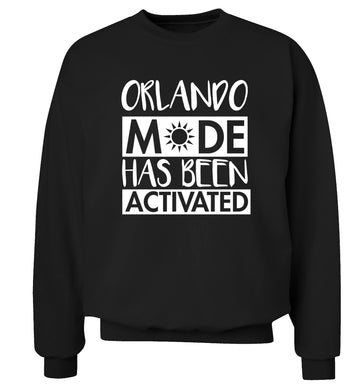 Orlando mode has been activated Adult's unisex black Sweater 2XL