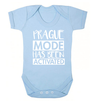 Prague mode has been activated Baby Vest pale blue 18-24 months