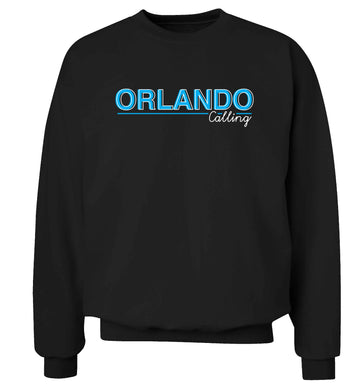 Orlando calling Adult's unisex black Sweater 2XL