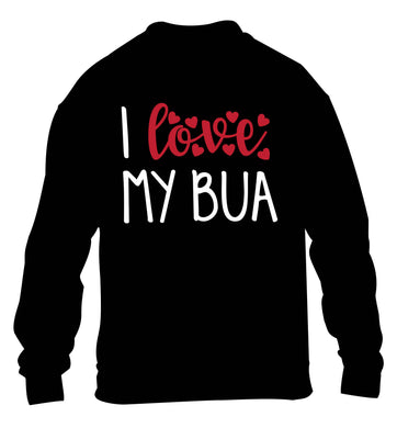 I love my bua children's black sweater 12-13 Years