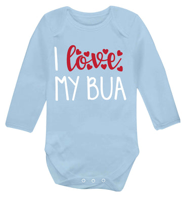 I love my bua Baby Vest long sleeved pale blue 6-12 months