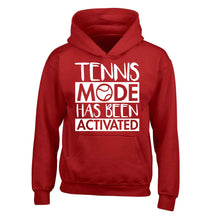 Tennis mode has been activated children's red hoodie 12-13 Years