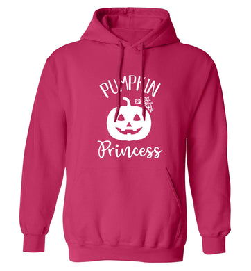 Happiness Pumpkin Spice adults unisex pink hoodie 2XL
