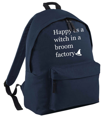 Happy as a witch in a broom factory | Children's backpack