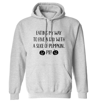 Magic in Night adults unisex grey hoodie 2XL