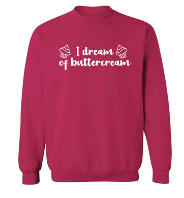 I dream of buttercream Adult's unisex pink Sweater 2XL