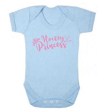 Hockey princess Baby Vest pale blue 18-24 months