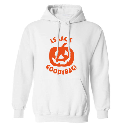 Pumpkin on Way adults unisex white hoodie 2XL