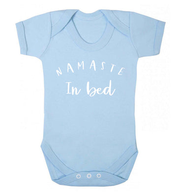 Namaste in bed Baby Vest pale blue 18-24 months